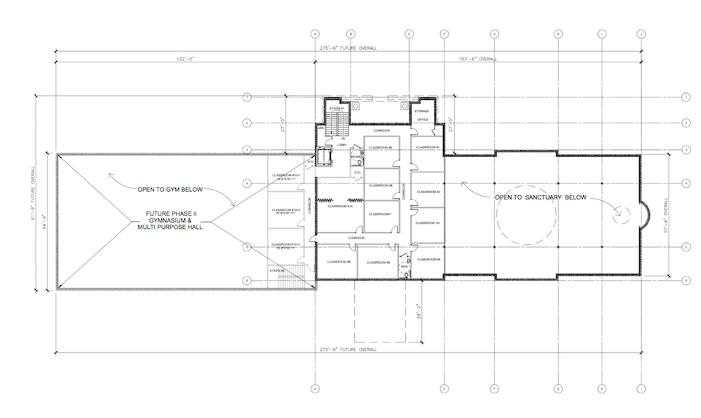 2275A202 Overall Second Floor Plan A202