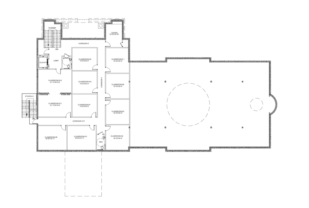 2275A204 Second Floor Plan A202
